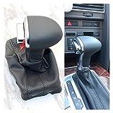 Pomo de cambio automático para Audi A6 C6 A3 8P A4 B8 A5 Q5 2009 2010 2011 2012 2013 2014 (gris)