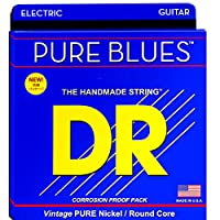 DR PURE BLUES PHR-9/46 Lite&Heavy エレキギター弦×3セット