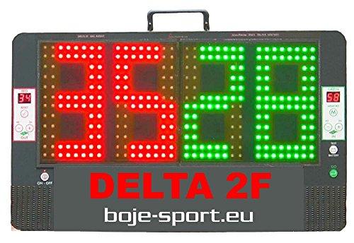 Amb elettronic Tabellone segnapunti e Cambio Giocatori Delta 2F in Kit Completo con Doppio Pannello