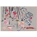 JHDF Mode Dekor Mädchen Bilden Werkzeuge Bad Teppiche rutschfeste Fußmatte Boden Eingangsmatte Kinder Badematte 40 * 60 cm Bad-Accessoires