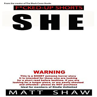 She audiobook cover art