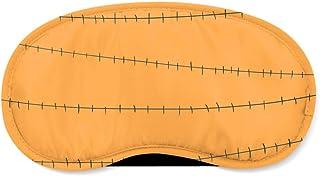 Stitches Jack Skellington Inspired Orange - Sleeping Mask - Sleeping Mask