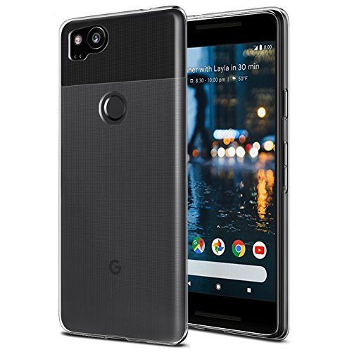 google pixel 2 silicone protective clear case