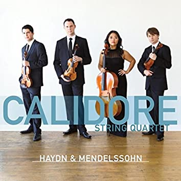 "Haydn: String Quartet Op. 76, No. 3, ""Emperor"" - Mendelssohn: String Quartet No. 2 Op. 13"