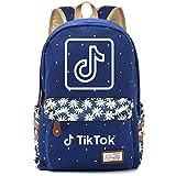 Kreative und Exquisite Rucksäcke, große Kapazität Casual Rucksäcke für Jungen und Mädchen, Reiserucksäcke 42CMX30CMX14.5CM Blau