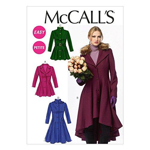 McCalls MC 6800 E5 (14-16-18-20-22) naaipatroon voor elegant, extravagant, modieus
