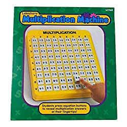 The Multiplication Machine (multiplication practice for kids)