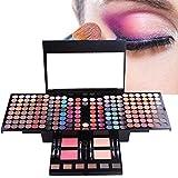 MUUZONING Paleta de Sombras de Ojos 180 Colores de Maquillaje Set Kit de alta Calidad Cosmético, Paleta De Sombras De Ojos Profesionales - Juego de Maquillaje Belleza de Regalos de Navidad #1