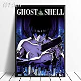 tzxdbh 70x100CM(NO Frame) Comic Ghost In The Shell