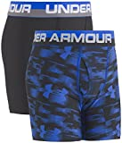Under Armour Boys' Big Performance Boxer Briefs, Ultra Blue/Black, YLG