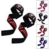RDX Sangle Musculation Gym Poignet Support Fitness Straps Lifting Entraînement Haltérophilie