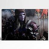 Visionpz Sylvanas Windrunner World of Warcraft Leinwand