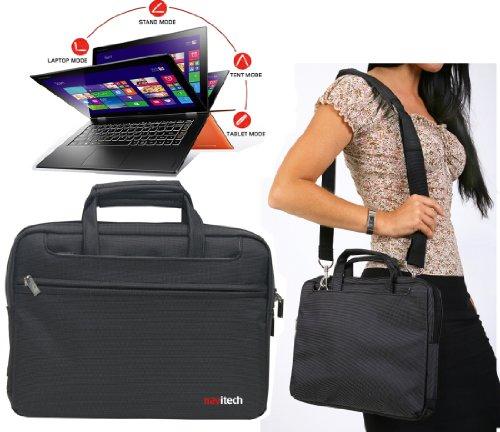Navitech schwarzes Case/Cover Trage Tasche/speziell für das MEDION AKOYA E6416 (MD 99560) 39,6 cm/15,6'' Notebook