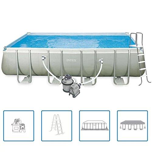 Roderick Irving Ultra 28352GN Pool Set rechteckig Rahmen 549 x 274 x 132 cm Haus und Garten Pool