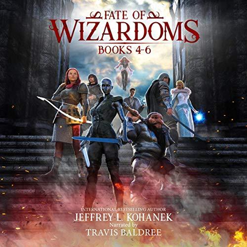Fate of Wizardoms Box Set: An Epic Fantasy Saga, Books 4-6 cover art