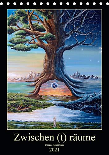 Zwischen (t) räume (Tischkalender 2021 DIN A5 hoch)
