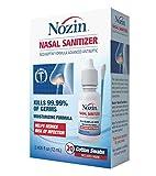 Nozin® Nasal Sanitizer® Antiseptic 12mL Bottle | Kills 99.99% of Germs | Lasts Up to 12 Hours |...