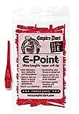 Empire Dart Softdartspitzen, E-Point, 2BA, lang, rot, 100 Stück, 20677