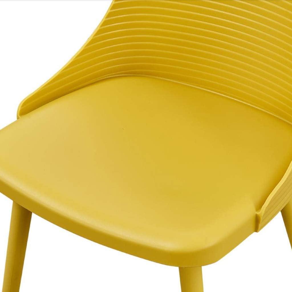 Solide Simple Chaise Bureau étudiant et Chaise de Maquillage Tabouret Retour à la Maison à Manger Chaise d'ordinateur Stable (Color : Green) Red