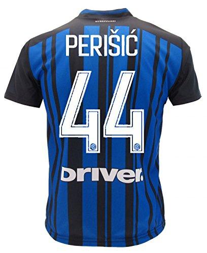 Perisic Inter 2018 Offizielles Trikot der Saison 2017/2018 Replik Ivan FC Internationale, blau, 12 Jahre