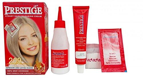Pack Économique de 2 x suie en crème colorants pour le cheveux, blond cendré clair 209