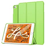 MoKo Funda Compatible con New iPad Mini 5th Generation 7.9' 2019/iPad Mini 4 2015, Ultra Slim Ligera Función de Soporte Protectora Plegable Smart Cover Cubierta Durable (Auto Sueño/Estela) - Verde