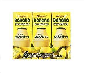 Binggrae Banana Flavour Milk, 6 x 200ml