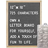 COSFLY Felt Letter Board with Letters 12 x 16 inches, Changeable Message Board with Easel ...