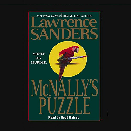 McNally's Puzzle audiobook cover art