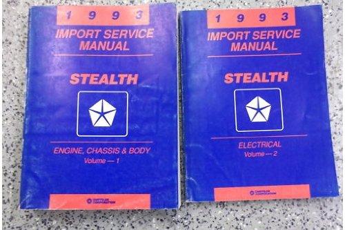 1993 Dodge Stealth Service Repair Shop Manual Set OEM (service manual set.)