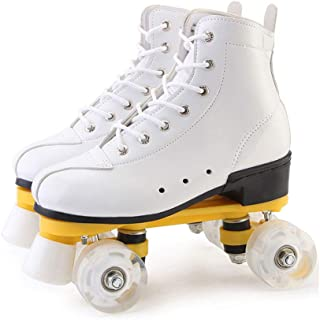 Adjustable Girl Quad Roller Skates Inline Roller Skating Children's Roller Skating Kick roller shoes Suitable For Girls An...