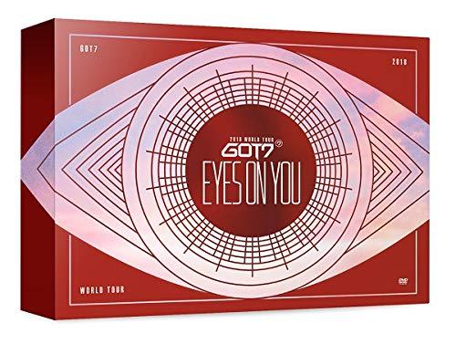 JYP GOT7 - GOT7 2018 WERELD TOUR OYES OP JE Blu-ray 3Discs+Fotoboek+Fotokaarten+Dubbele kant Extra Fotokaarten Set