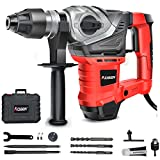 AOBEN 1-1/4 Inch SDS-Plus Rotary Hammer Drill with Vibration Control and Safety Clutch,13...