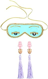 Gift Boxed Audrey Hepburn Sleep Mask and Earplugs Set Breakfast at Tiffany's Holly Golightly Halloween Party Costume