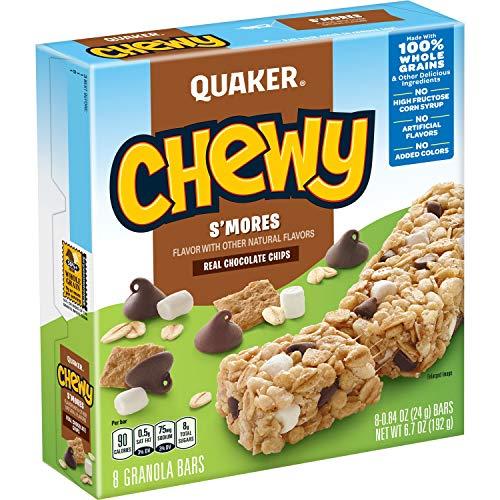 Quaker S'Mores Granola Bars, 8 ct, .84 oz each