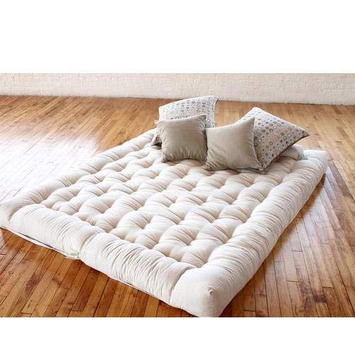Sale Active Single Bed Black Cotton Folding Mattress/Gadda for Students, PG, Hostel, Picnic - 3 x 6 feet, Multi Colour