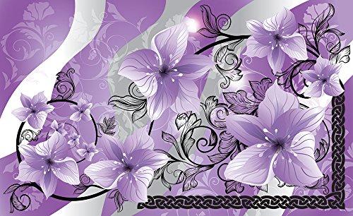 Olimpia Design 1232P8 Fototapete Photomural Lilien