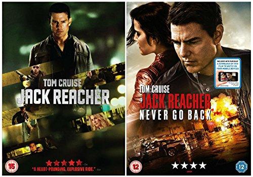 Jack Reacher 1-2 Complete Collection : Jack Reacher / Jack Reacher: Never Go Back (DVD + Digital Download) Based on the book 'One Shot' by Lee Child