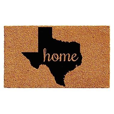 Calloway Mills 102441830 Texas Doormat, 18  x 30 , Natural/Black