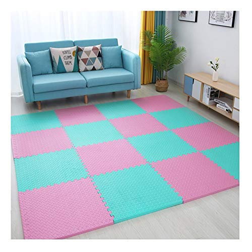 Read About GHHQQZ Foam Play Mat Baby Blanket Waterproof for Baby Puzzle Floor Mats Gym Yoga Room Flo...