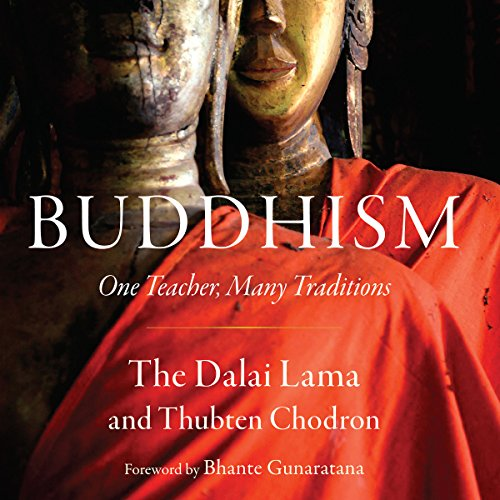 Buddhism audiobook cover art