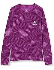 Odlo Bl Top Crew Neck L/S Active Warm Trend Kids Camiseta, Unisex niños