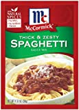 McCormick Spaghetti, Thick & Zesty, 1.37-Ounce Units (Pack of 24)