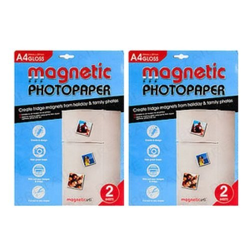 Magnetische printbare vellen glanzend effect voor het maken van foto's, Holiday Cards-Perfect Koelkast Magneten (4)