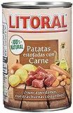 Litoral - Patatas Estofadas con Carne - Pack de 5 x 420 g