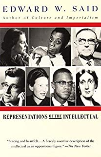 Representations of the Intellectual: The 1993 Reith Lectures by Edward W. Said(1996-04-02)