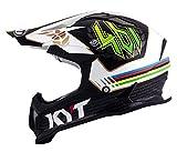 KYT ysea0009.3Casco Moto, multicolor, S