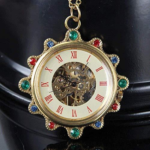 Tradicional en Collar de Las señoras del Reloj de Bolsillo for no Clip Estudiante Colgante Ladies Reloj de Bolsillo,Vapor