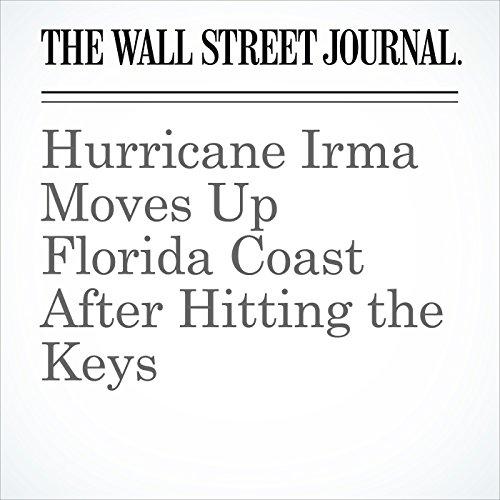 Hurricane Irma Moves Up Florida Coast After Hitting the Keys copertina