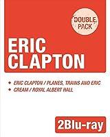 【来日記念盤 2Blu-rayパック】エリック・クラプトン / 『プレーンズ・トレインズ&エリック ~ ジャパン・ツアー 2014』 + 『クリーム / ライヴ・アット・ロイヤル・アルバート・ホール 2005』